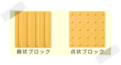 線状ブロック 点状ブロック